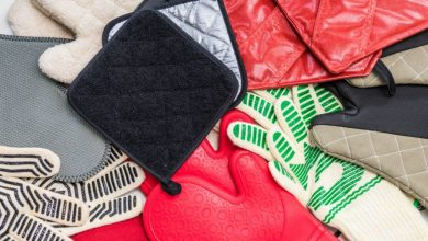 Photo of The material of oven mitts & gloves